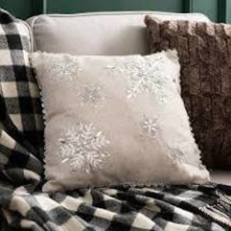 Harman Harman Pillow 18x18 - Nordic Snowflake