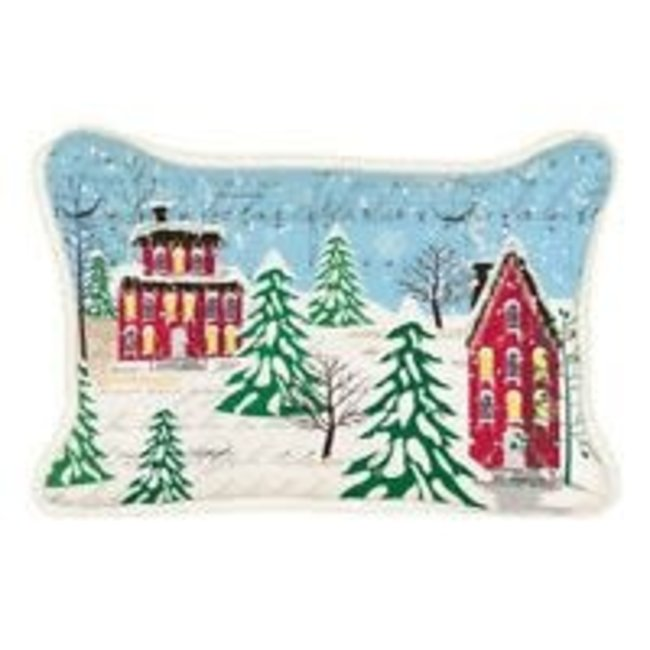 Michel Design Works MDW Throw Pillow- Deck The Halls