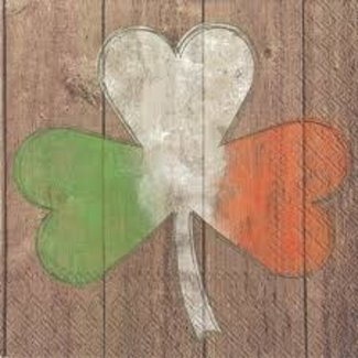 Boston International Cocktail Napkin- Luck of the Irish