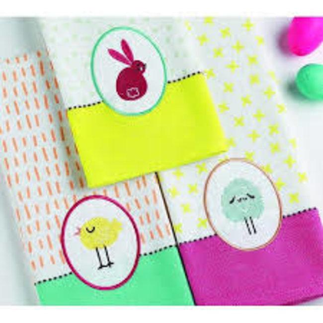DII Dish Towel- Easter Fun Chick