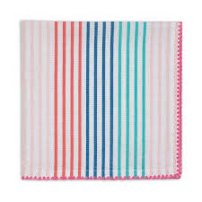 DII Easter Dishtowel- Searsucker Multi Stripe