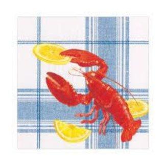 Caspari Caspari Luncheon Napkins - Lobster Bake