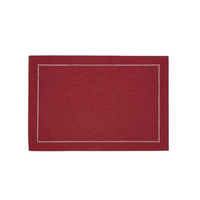 Harman Harman Linen Look Placemat - Red