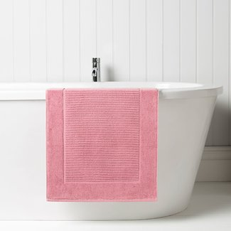 Christy Bath Mat - Pink