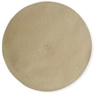 Tag Round Woven Placemat-Natural