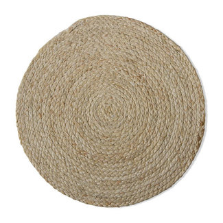 Tag Braided Placemat - Natural Maize