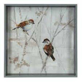 RockFlowerPaper RockFlowerPaper 15' Tray - Sparrows
