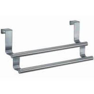 InterDesign Forma Over Cabinet Double Towel Bar