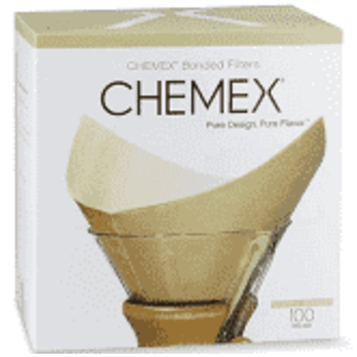 Chemex Bonded Filters Set of 100 - Natural