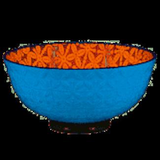 BIA Aster Bowl Orange Turquoise