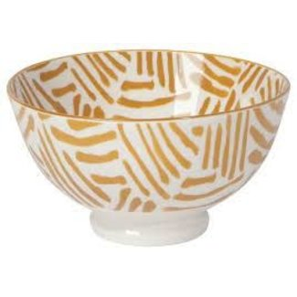 Now Designs Now Designs  4inch Bowl -  Ochre Lines