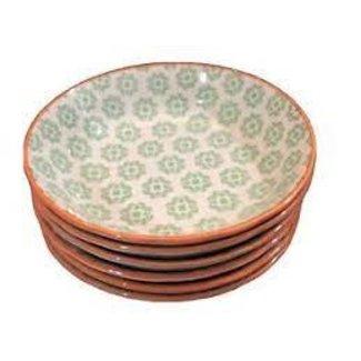 BIA Floral Bowl Green/Orange