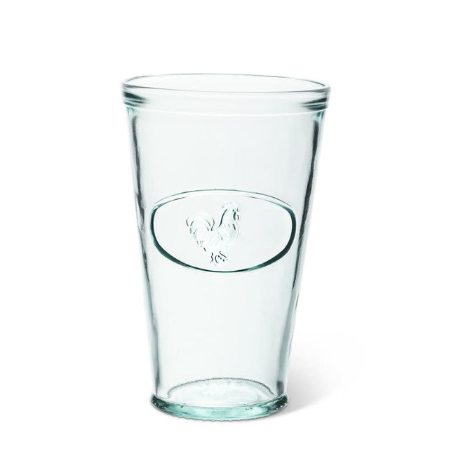 Abbott Tall Tumbler Glass - Rooster