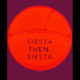 Bella Tunno Bella Tunno Wonder Plate - Fiesta Then, Siesta