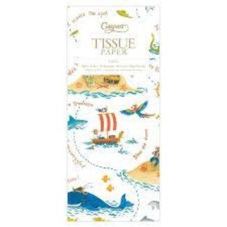 Caspari Yo Ho Ho Tissue Paper- 4 Sheets