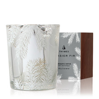Thymes Thymes Frasier Fir Statement Candle - Silver Pine Needle 2oz