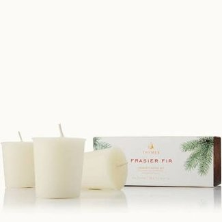 Thymes Thymes Frasier Fir Votive Candle Set of 3