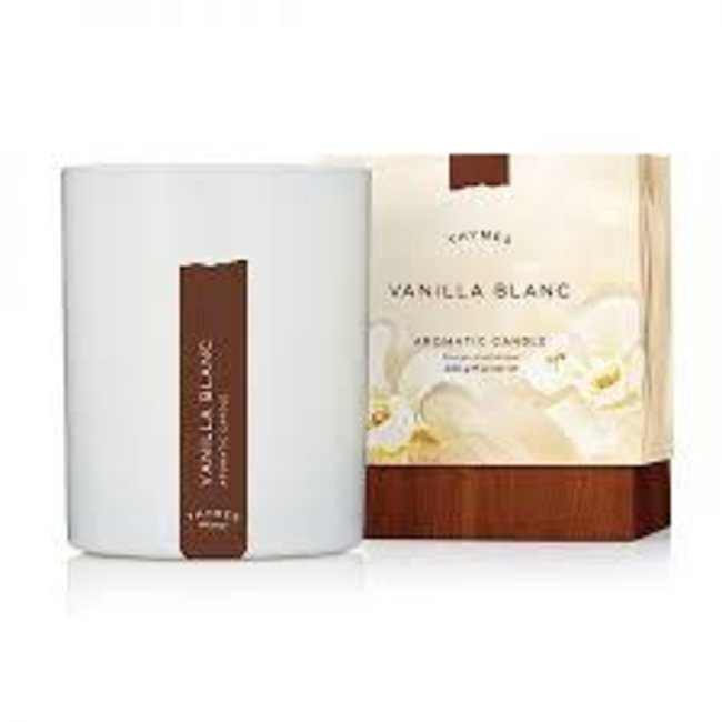 Thymes Thymes Aromatic Candle- Vanilla Blanc