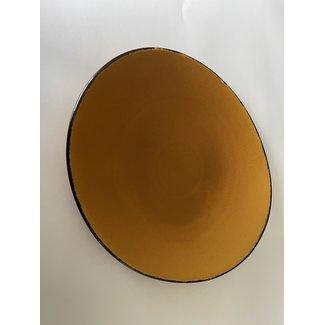 Fortessa Oval Plate- Spice Saffron