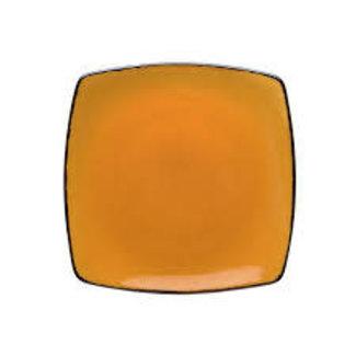 """Fortessa Spice Saffron 8"""" Square Plate"""