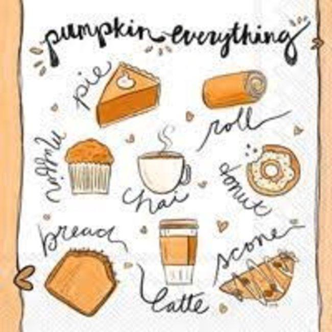 Boston International Cocktail Napkin- Pumpkin Everything