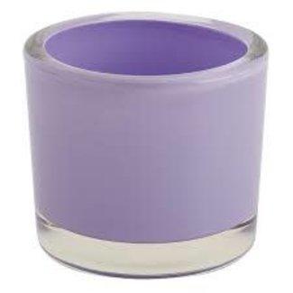DII Lavender Glass Candle Holder