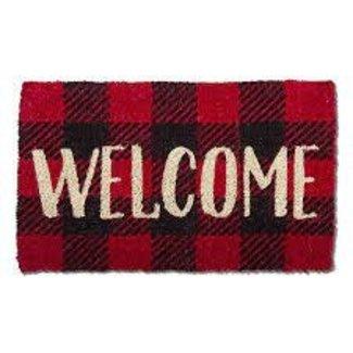 TAG Doormat Coir - Buffalo Check Basic