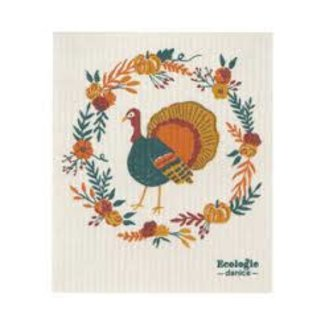 Now Design Swedish Dish Towel Harvest Turkey