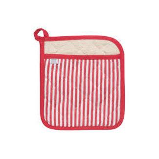 Now Designs Now Designs Potholder Superior- Narrow Stripe Red