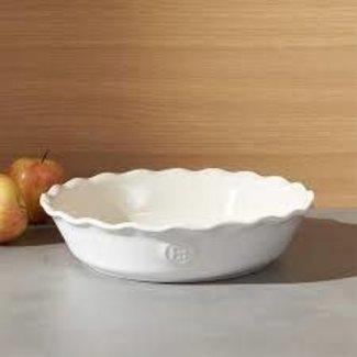 Emile Henry Emile Henry - Pie Dish - White