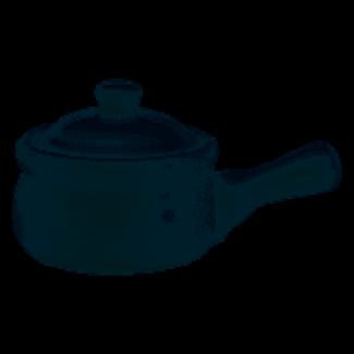 HIC Onion Soup Crock w/Lid- White