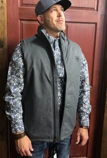 ARIAT ARIAT MNS TEAM VEST CHARCOAL HEATHER INSULATED