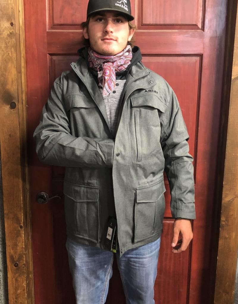 ARIAT ARIAT MNS WYATT PARKA CHARCOAL CONCEALED CARRY
