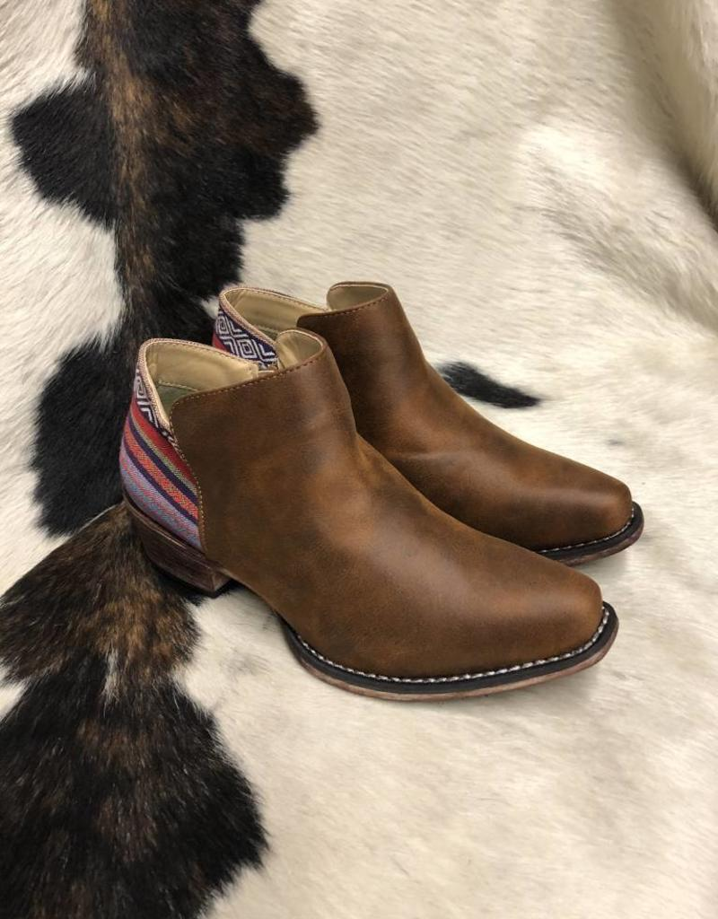 ROPER WNS FASHION FAUX SHORTY BOOT SNIP TOE