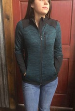 CINCH CINCH WNS HYBRID KNIT / BONDED JACKET TEAL