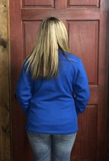 CINCH CINCH WNS SWEATER KNIT JACKET ROYAL