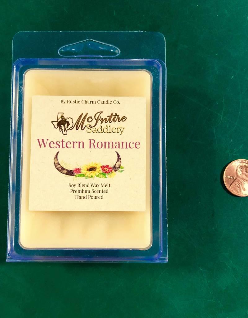 WAX MELT WESTERN ROMANCE WAX MELTS MCINTIRE SADDLERY