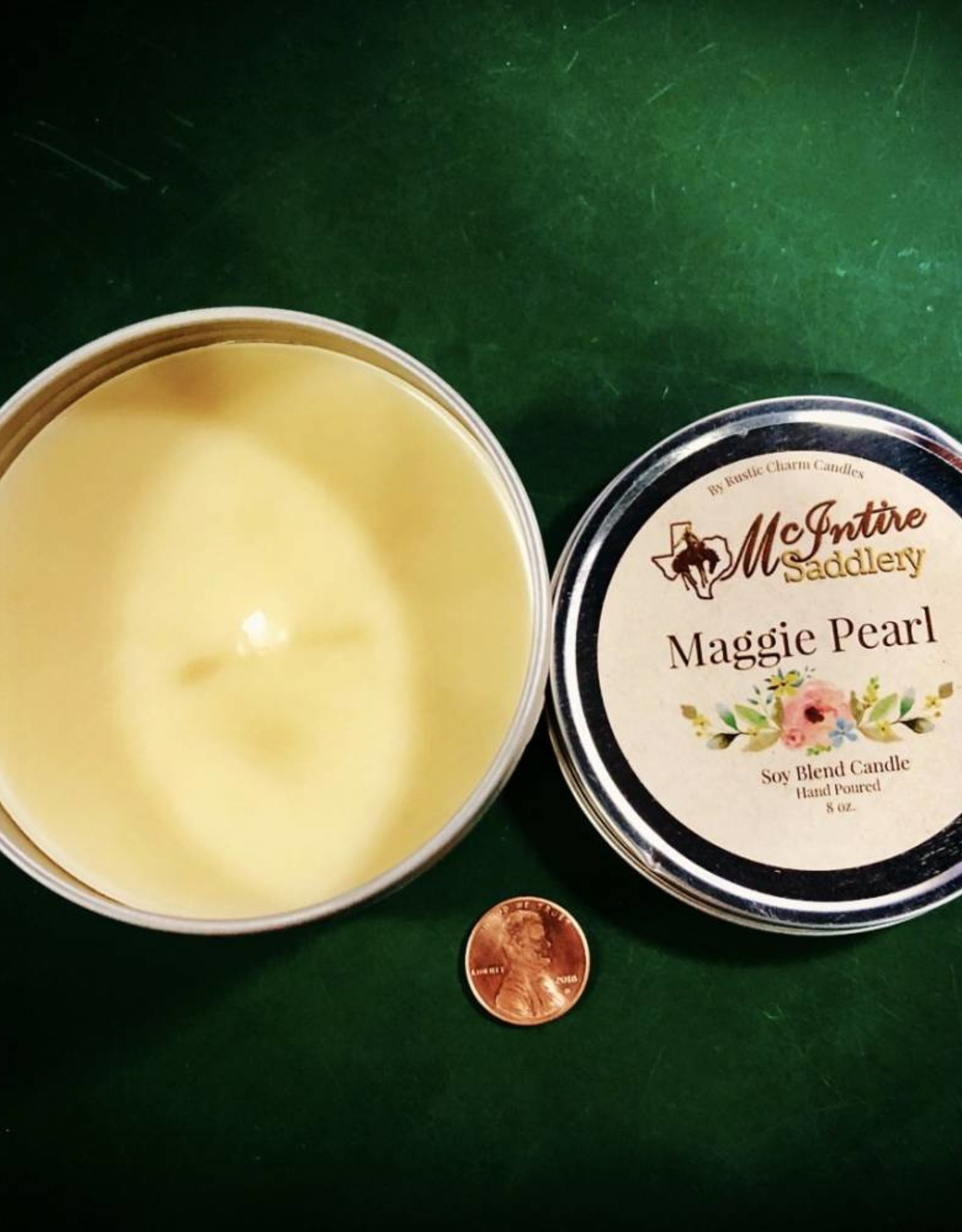 CANDLE MCINTIRE SADDLERY CANDLES