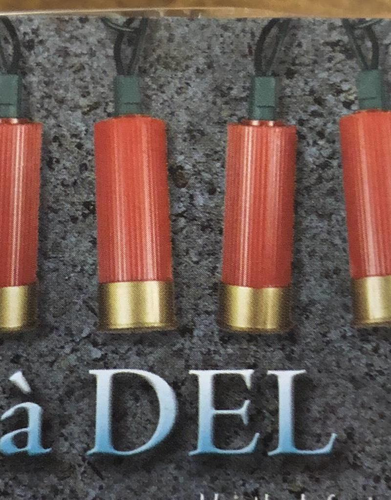 LIGHTS SHOTSHELL DECORATIVE LED PARTY 10 FT SHOTGUN SHELL