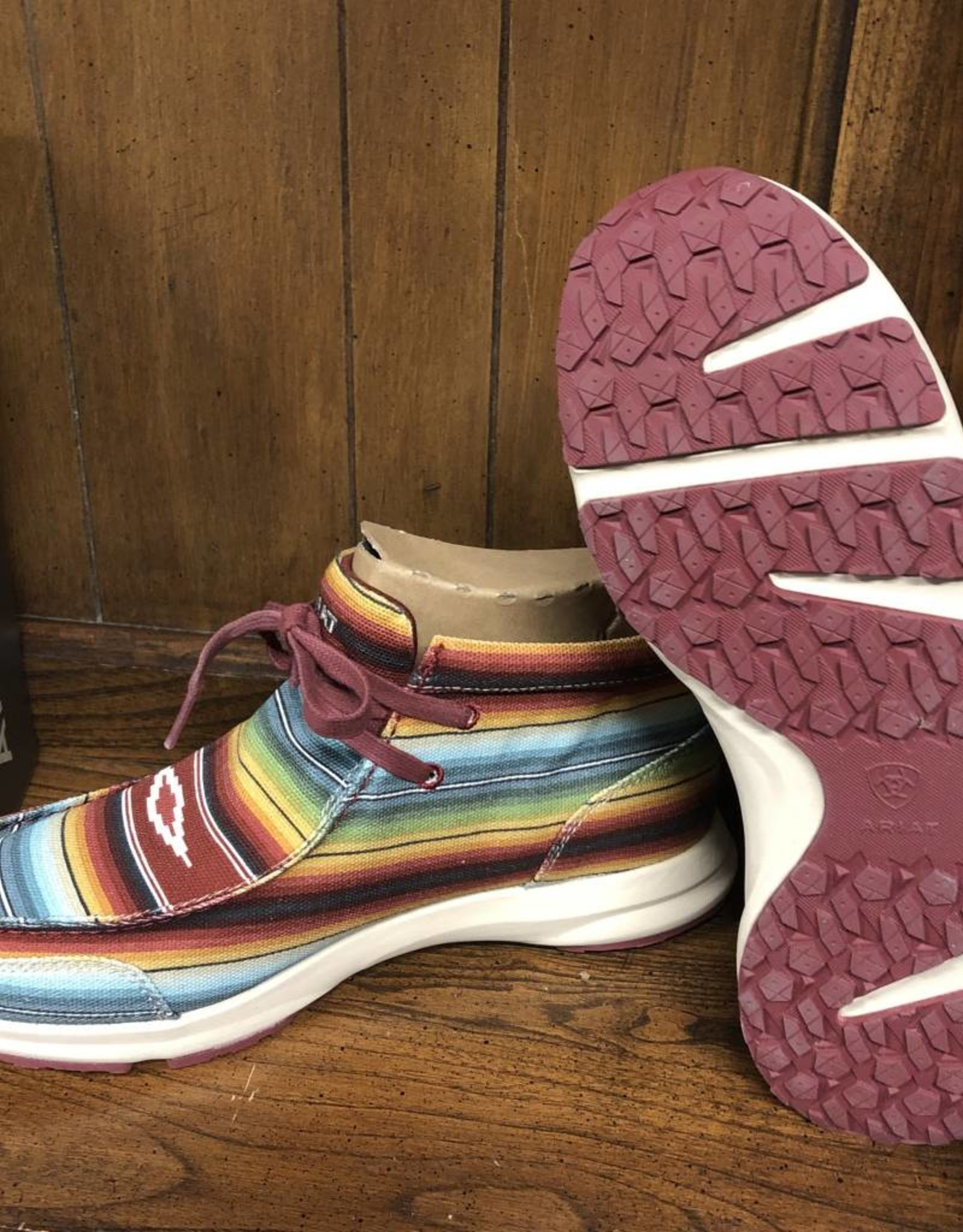 ARIAT WMS SPITFIRE OLD MUTED SERAPE SHOES