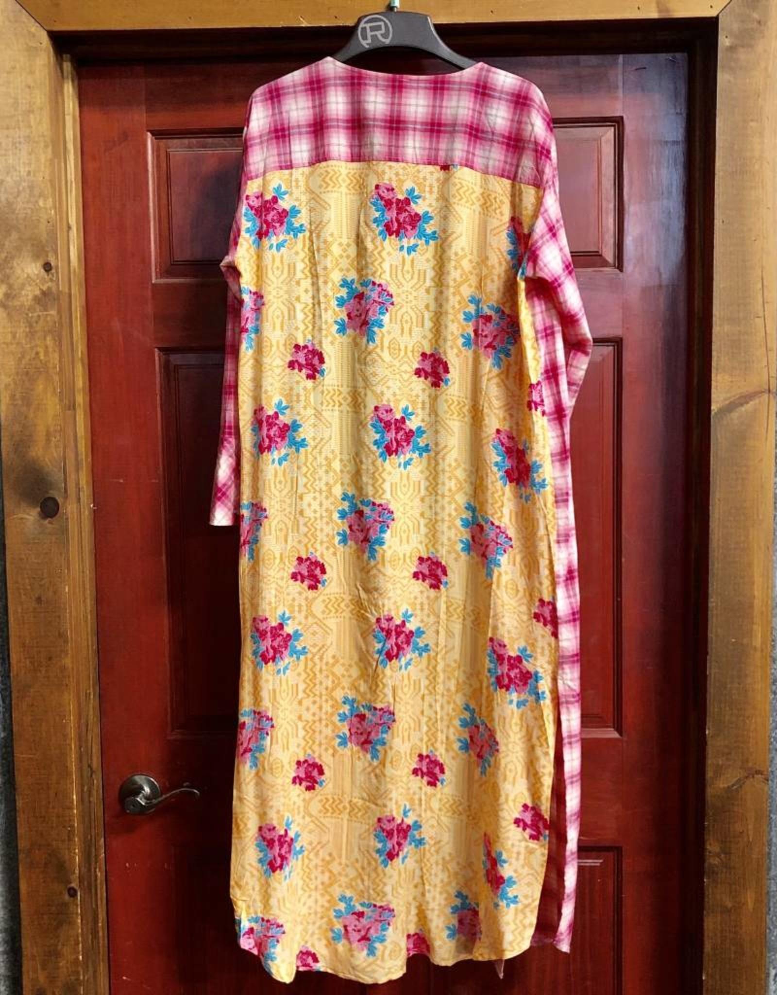 ROPER WMS ROPER DRESS JACKET PINK PLAID L/S