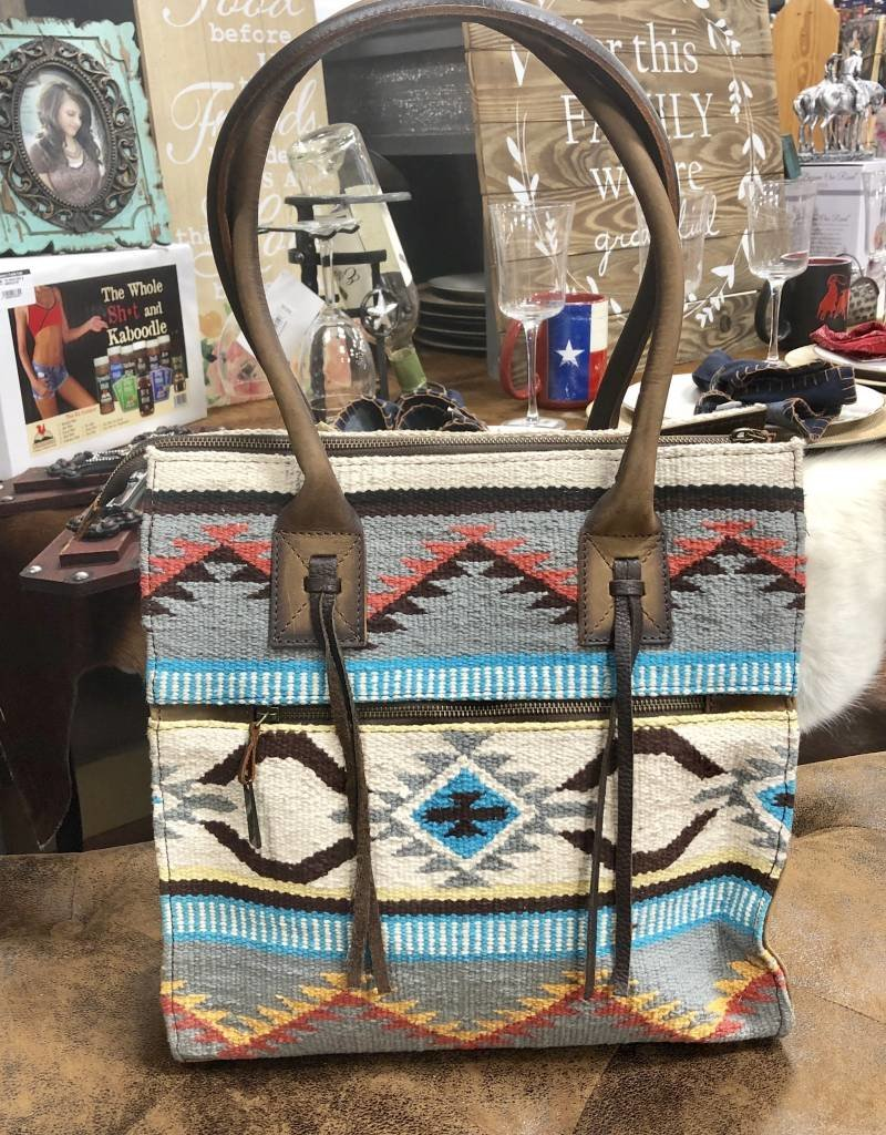"""PURSE STS SEDONA LARGE CHAPS BAG CONCEALED 14"""" X 14""""CARRY"""