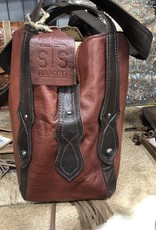 PURSE STS COMBO RED/BROWN BRACKIN