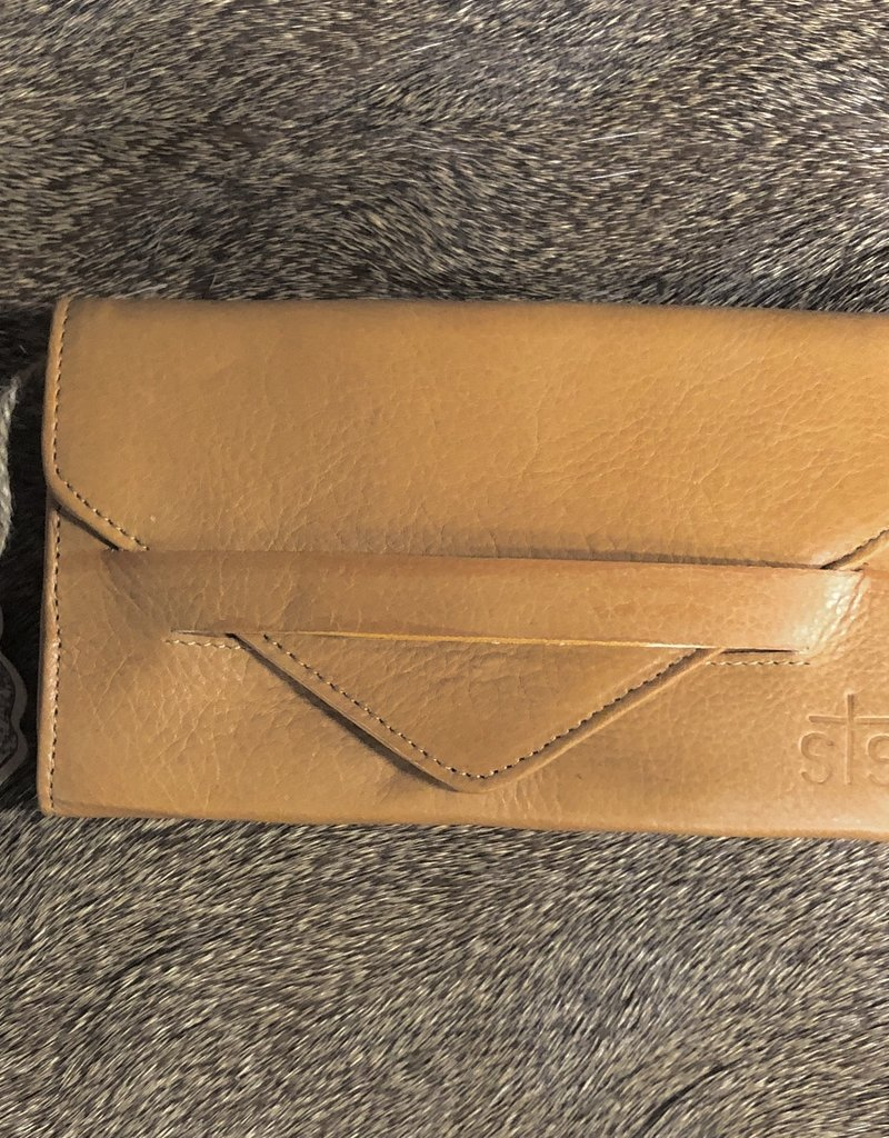 "WALLET STS SILO URBAN CAMEL 7.5"" X 4.5"""