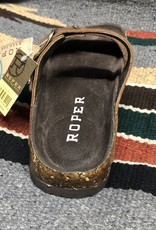 ROPER WMS ROPER SANDAL BROWN OILED VINTAGE LEATHER