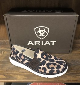 ARIAT WMN ARIAT RYDER LEOPARD SHOE SLIP ON 10029737