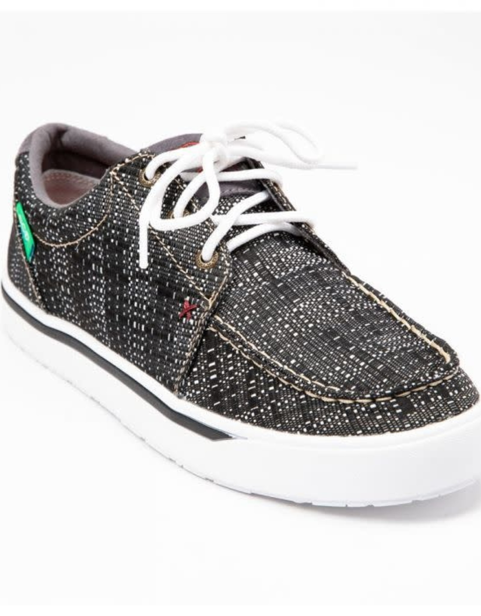 SHOE TWISTED X MNS BLK/WHT CASUAL C MCA0033