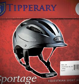 HELMET TIPPERARY SPORTAGE BLACK 8500