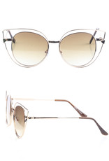 SUNGLASSES BROWN TINT