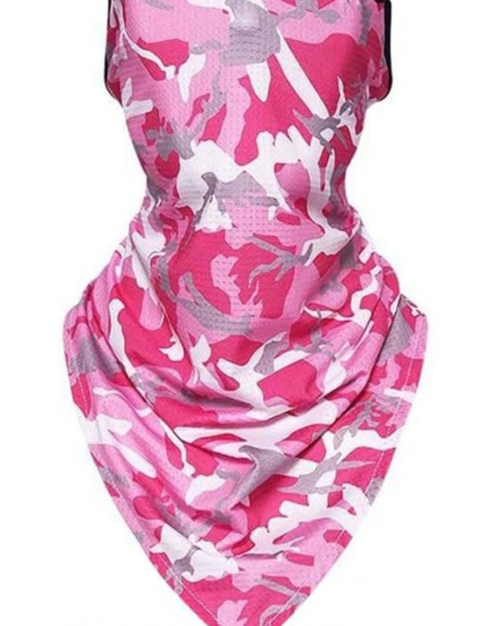 GAITOR COOLING MOISTURE WICK CAMO PINK PRINT MASK UNISEX